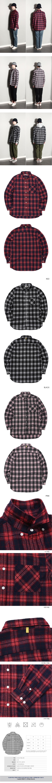 Check Shirts (U17CTSH52) - 언리미트, 32,000원, 남방, 스트라이프/땡땡이/패턴